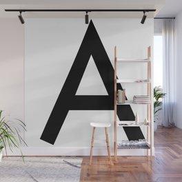 Alphabet A Wall Mural