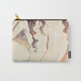 Egon Schiele Two Women Embracing Carry-All Pouch