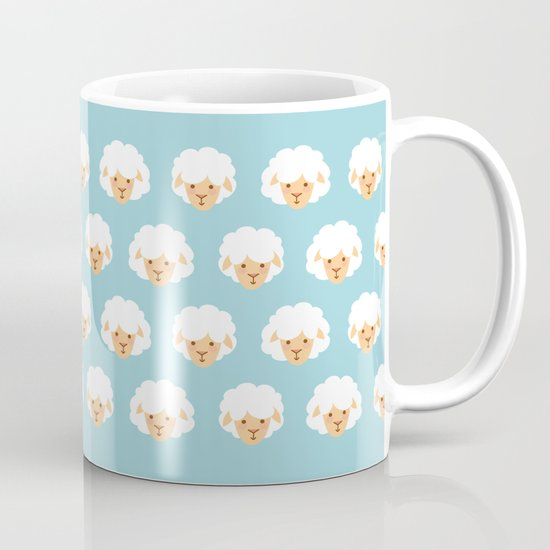 Lion and lambs Mug