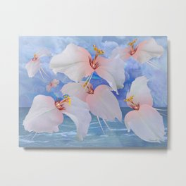 Avian Flowers of Planet Etheon Metal Print