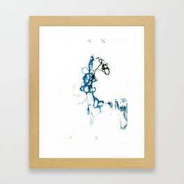 Thread Drawing no. 2 Framed Art Print