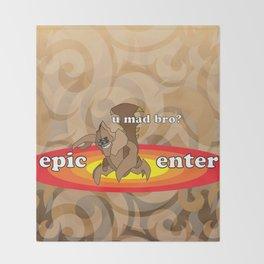 SandKing - Epic Enter Throw Blanket
