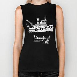 Hinaaja (Finland) Gay Slang Collection. White. Biker Tank