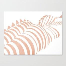 white shadow Canvas Print