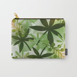 Peaches and Greens Carry-All Pouch