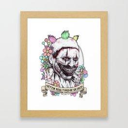 xoxo Twisty (color) Framed Art Print