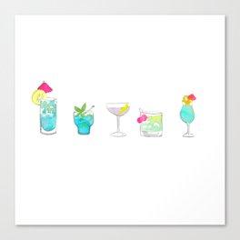 Cocktails no 3 Canvas Print