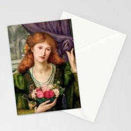 "Marie Spartali Stillman ""Luisa Strozzi"" Stationery Cards"
