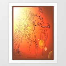 BAD MEDICINE 10 Art Print