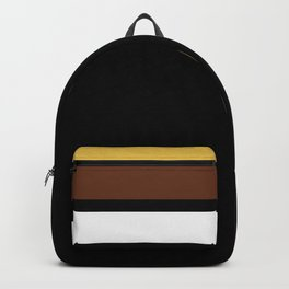 Team Colors 2...brown,beige Backpack