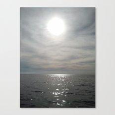O.C. SUN Canvas Print