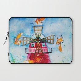 Dutch Windmills Laptop Sleeve