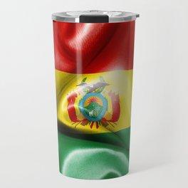 Bolivia Flag Travel Mug
