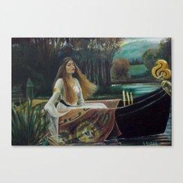 Lady of Shallott Canvas Print