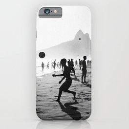 Beach Soccer at Ipanema iPhone Case