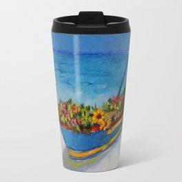 """Fishing Colorful Dreams-1"" Travel Mug"