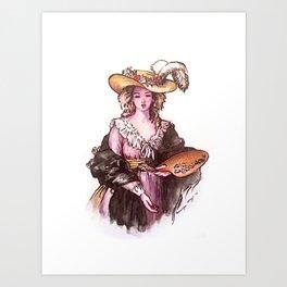 Elisabeth Vigee Le Brun Art Print