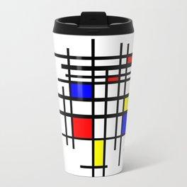De Stijl - Neoplasticism Travel Mug