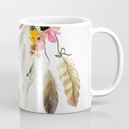 free spirit- tribal skull Coffee Mug