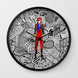 Heroes Fashion 4 Wall Clock