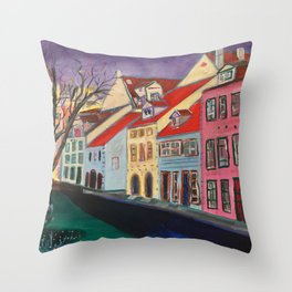 Livi Laukum, Riga, Latvia Throw Pillow