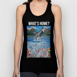 What's Home? Unisex Tank Top