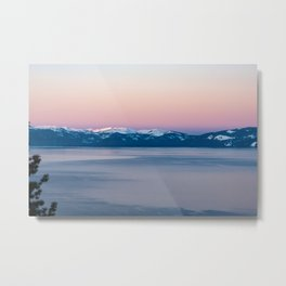 View of Lake Tahoe from Incline Village. Nevada. USA. Metal Print