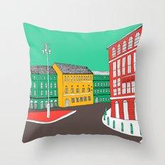 City Life // European Architecture Throw Pillow