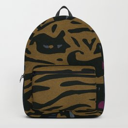 Golden Tiger Backpack