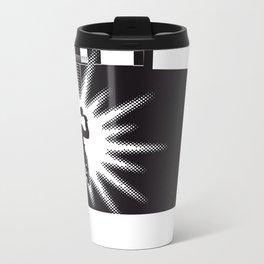 The Black Collection' Window Metal Travel Mug