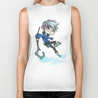 jack nicholson Biker Tanks featuring Jack by Meekobits