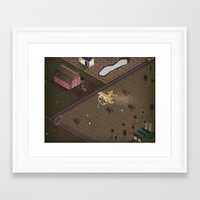 country Framed Art Prints featuring Country by Soak
