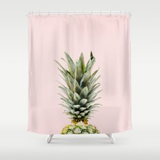 Pineapple Pastel Shower Curtain