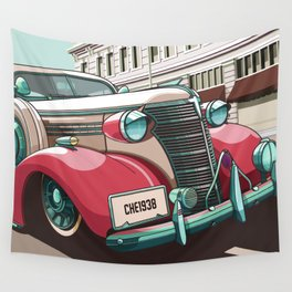Chevrolet 1938 Wall Tapestry
