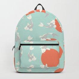Koi fish pattern 005 Backpack