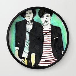 Baby Boyfriends Wall Clock