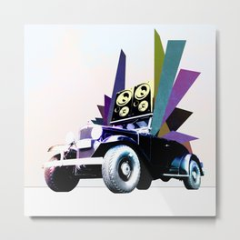 Fabmobile B Metal Print