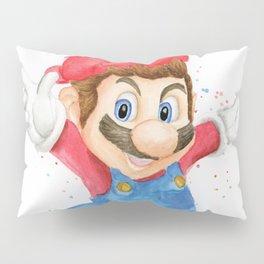 Skateboarder Mario Pillow Sham