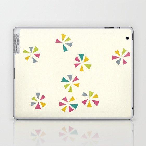 Colour Wheels Laptop & iPad Skin
