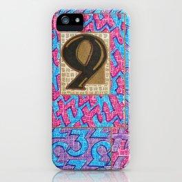 Alpha-Numero: Nine iPhone Case