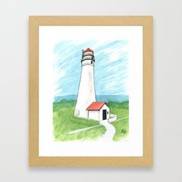 Fort Gratiot Lighthouse Framed Art Print