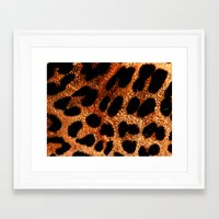 furry Framed Art Prints featuring FURRY by Catspaws