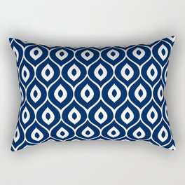 Leela Navy Rectangular Pillow
