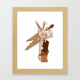 Bunny Riven Framed Art Print