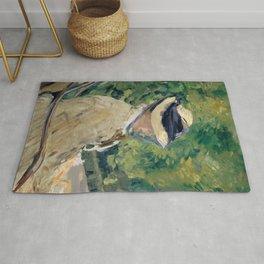 Edouard Manet - Madame Manet (Suzanne Leenhoff, 1830–1906) at Bellevue Rug