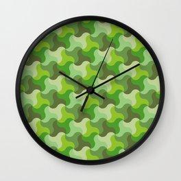 All-Green Alhambra Wall Clock