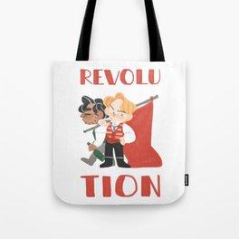 for revolution Tote Bag