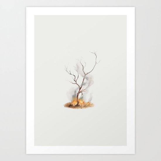 Snared Art Print