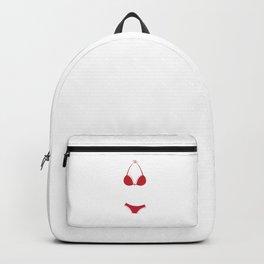 Bra Humbug Bikini Anti Xmas Hate Scrooge Grumpy Humor Pun Cool Gift Design Backpack