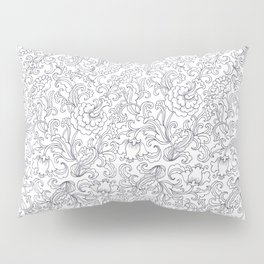 Garden with exotic flowers Pillow Sham